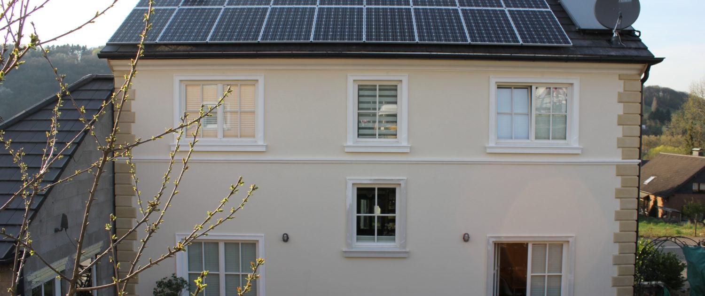 7 2 kwp photovoltaikanlage mit stromspeicher in wachtberg b w energy intelligente. Black Bedroom Furniture Sets. Home Design Ideas